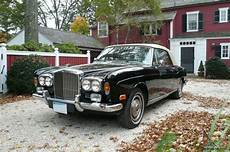 bentley corniche convertible 1973 bentley corniche convertible black hides