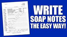 How To Write Soap Notes Write Soap Notes The Easy Way Using A Soap Note Template