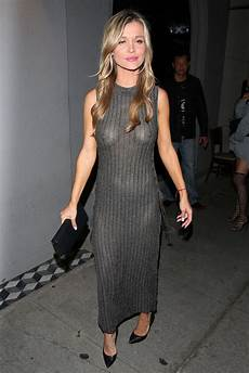 see through clothes for joanna krupa in see through dress at craig s restaurant