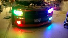 Rgb Light For Car Led Rgb Light On My Friends Car First Step Youtube