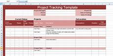 Free Excel Project Tracking Templates Multiple Project Tracking Templates Excel Project