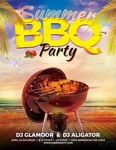 Chicken Bbq Flyer Template Summer Bbq Flyer Design Template In Word Psd Publisher