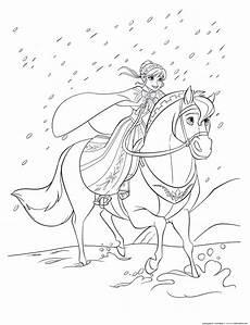 malvorlage elsa pferd kinder ausmalbilder