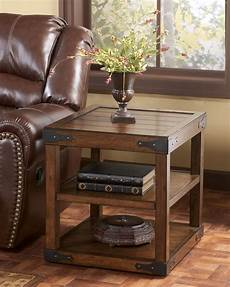Hoobro End Table Rustic Side Table With 3 Tier Shelf by Rustic End Tables Search Rustic End Tables