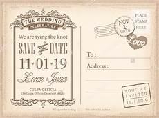 Free Postcard Invitation Templates Printable Save The Date Postcard Template 25 Free Psd Vector Eps