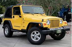 Used 2000 Jeep Wrangler 2dr Sport For Sale 13 995