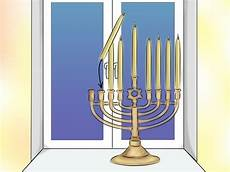 How To Light The Menorah And Hanukkah How To Light A Chanukah Menorah 15 Steps With Pictures