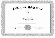 Certificates Of Achievement Free Templates Free Formal Award Certificate Templates Customize Online
