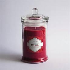 candele rosse bomboniere candele rosse in vasetto di vetro matrimonio