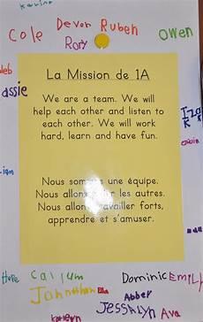 Classroom Mission Statement Madame Belle Feuille Classroom Mission Statements