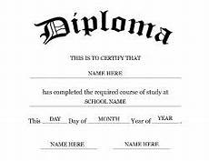 Blank College Diploma Free Middle School Diploma Templates Geographics Free