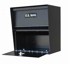 Business Mailbox Horizontal Wall Mount Commercial Mailbox By Locking Mailboxes