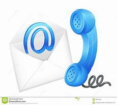 Email Contacts Contact Email Symbol Stock Vector Illustration Of Call