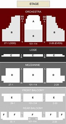 Sf Playhouse Seating Chart Curran Theatre San Francisco Ca Seating Chart Amp Stage
