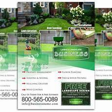 Lawn Maintenance Flyers Lawn Care Flyer Design 3 The Lawn Market