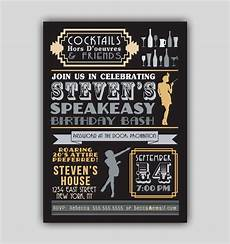 1920s Invitation Template Free Speakeasy Prohibition 1920s Art Deco Invitation By