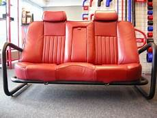 designer leather car seat sofa from viper performance