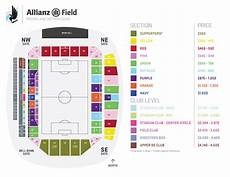 Minnesota United Allianz Field Seating Chart 2019 Allianz Field Transition Minnesota United Fc