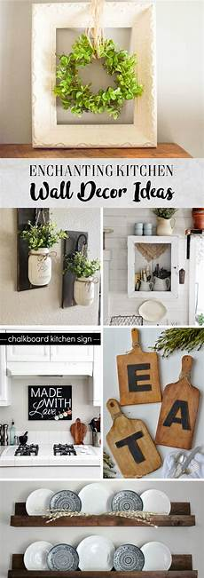 decoration ideas for kitchen walls 30 enchanting kitchen wall decor ideas that are oozing