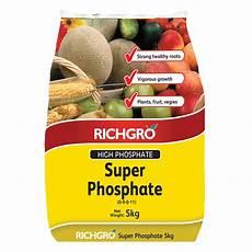 Phosphate Fertilizer Richgro 5kg Super Phosphate Fertiliser Supplement