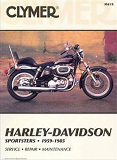 Harley Davidson Sportster Service And Repair Manual 1959
