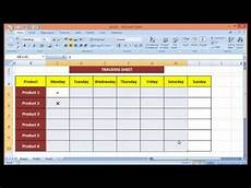 Task Tracker Excel Stylish Ms Excel Sheet For Tracking Tasks Youtube