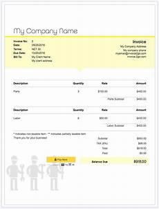 How To Prepare An Invoice For Payment How To Create A Professional Invoice Sample Invoice