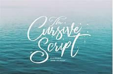Cursive Free Fonts Cursive Script Handmade Brush Script Fonts Creative Market