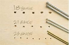 Finish Nail Pilot Hole Chart Grex H850lx Micro Brad Nailer Overview Nail Gun Network