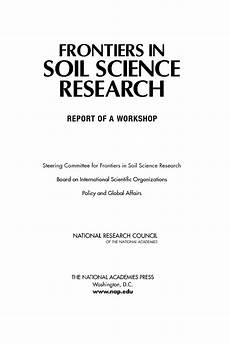Front Page For Report Front Matter Frontiers In Soil Science Research Report
