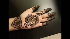 Pretty Henna Designs Pretty Heart Henna Design Easy Hearts Shaped Mehendi