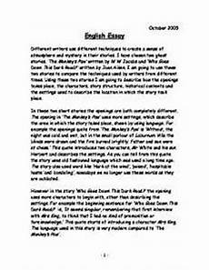 English Essay Book Never Before Told Stories About English Essay That You