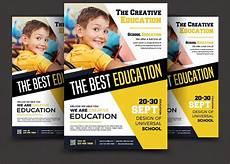 Education Leaflet Design School Education Flyer Templates Educa 231 227 O