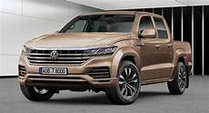 2019 vw amarok second vw amarok imagined with 2019 touareg styling