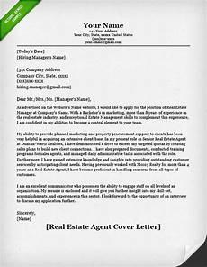 Real Estate Reference Letter Sample Real Estate Agent Cover Letter Resume Genius