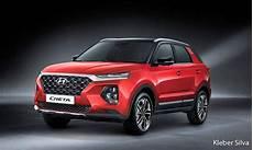 hyundai kona facelift 2020 2020 hyundai creta rendered ahead of launch to get 5 and