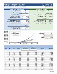 Investment Calculator Excel Free 401k Calculator For Excel Calculate Your 401k Savings