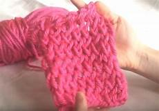 how to finger knit step by step with