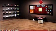 sfondo desktop scrivania libreria awesome desktop setup