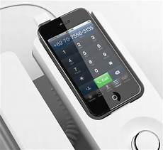 Designer Desk Phone Desk Phone Dock Ensures Smarter Use Of Iphone By Featuring