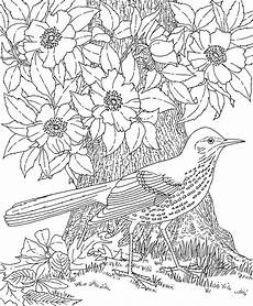 Ausmalbilder Blumen Schwer Detailed Flower Coloring Pages To And Print For Free