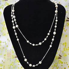 Different Bead Necklace Designs Latest Pearl Necklace Design How To Make Long Layered