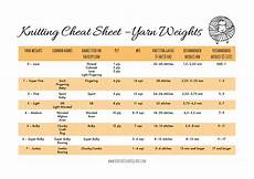 Yarn Chart Yarn Weight Conversion Chart Don T Be Such A Square