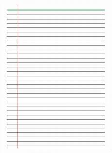 College Ruled Paper Template College Ruled Paper Template For Microsoft Word Sintrust