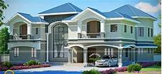 luxury house in beautiful style home design