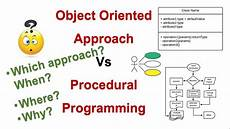 What Is Detailed Oriented Ooad 5 Object Oriented Approach Vs Procedural Structured
