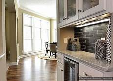 black kitchen backsplash black gray subway slate backsplash tile