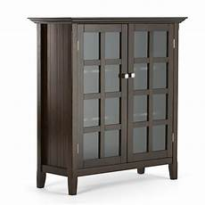simpli home acadian accent storage cabinet reviews wayfair