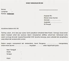 surat undangan dalam bahasa sunda contoh isi undangan