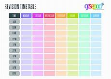 Blank Revision Timetable Gcsepod On Twitter Quot Organise Your Workload With Our Brand